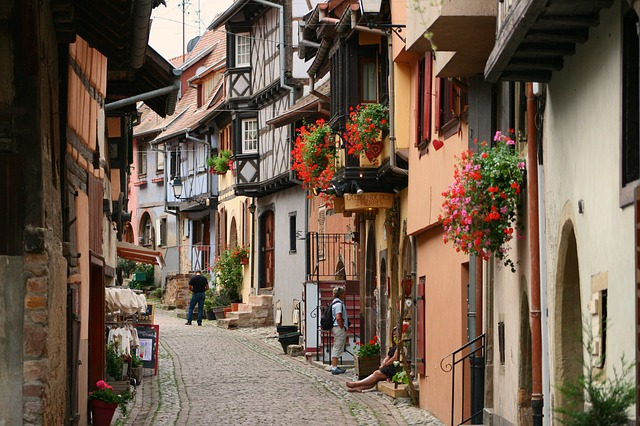 eguisheim historické centrum
