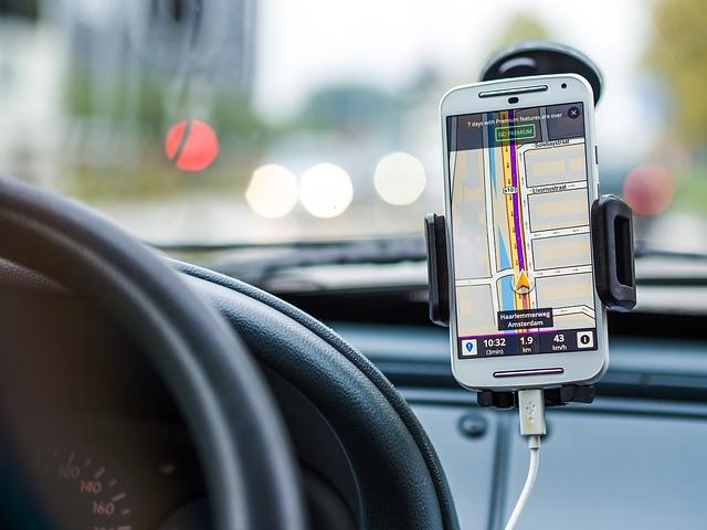 gps navigace v mobilu