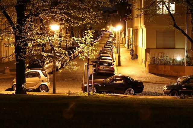 městské osvětlení