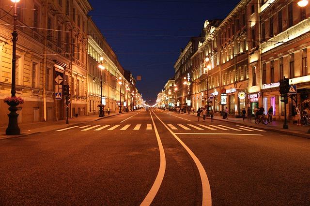 osvětlení ulice